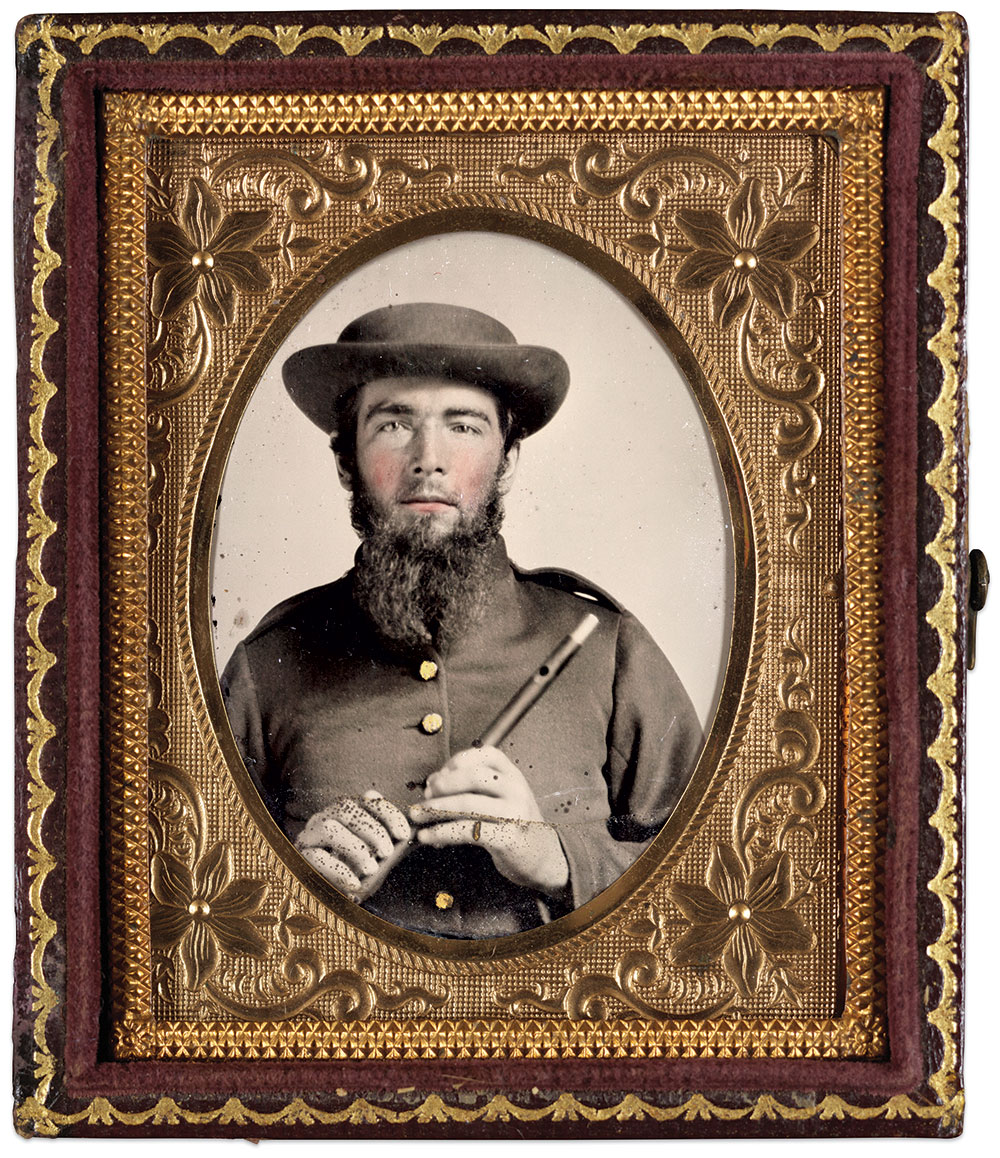Ninth-plate ambrotype by an anonymous photographer. The Liljenquist Family Collection at the Library of Congress.