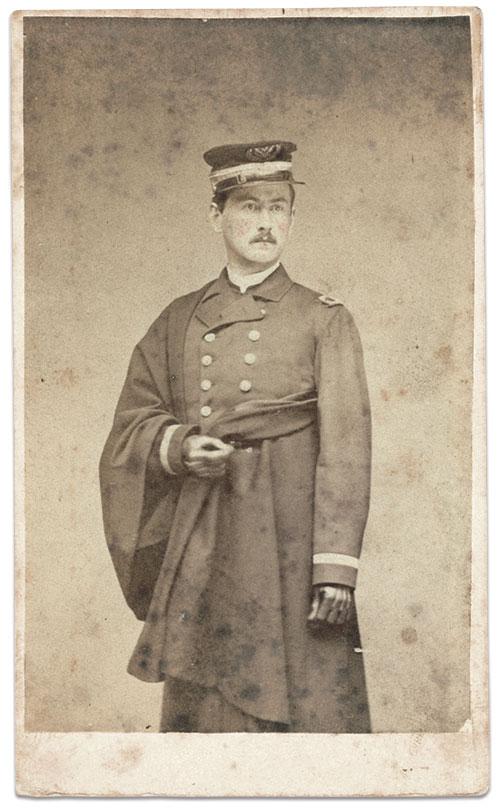 Surg. Matthews, about 1864. Carte de visite by William A. Paret of New York City. Ron Field Collection.