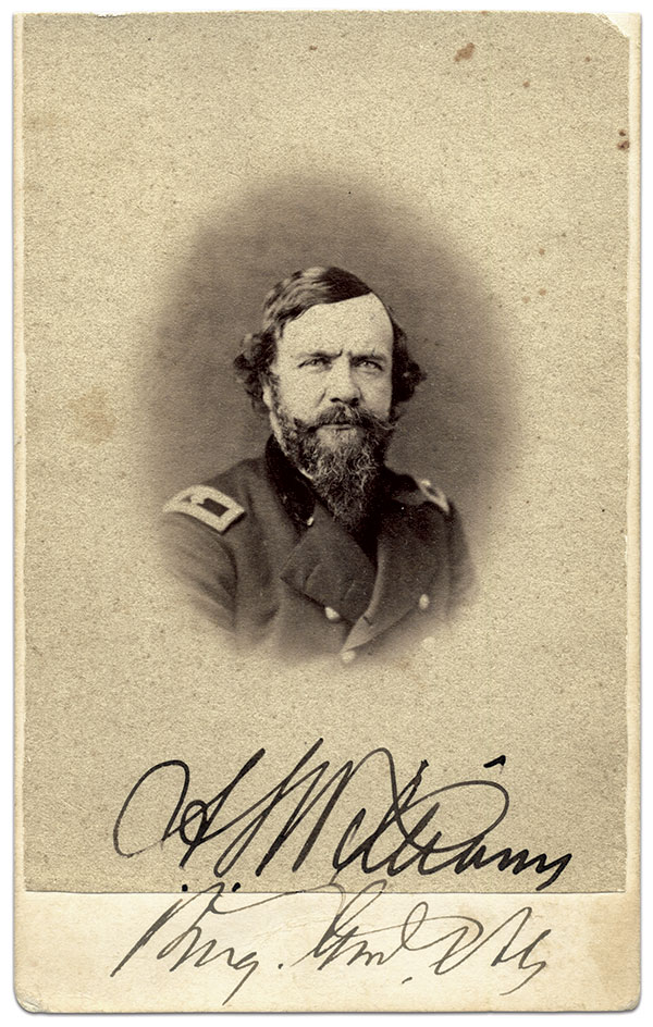 Carte de visite by A.R. Henwood of Carlisle, Pa. Steve Meadow Collection.