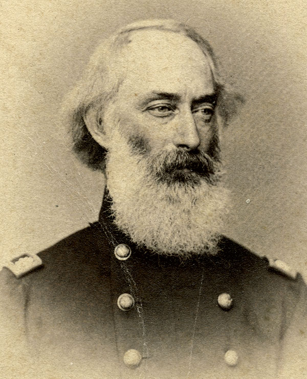 Nichols on his 45th birthday in 1863. Ronald S. Coddington Collection.