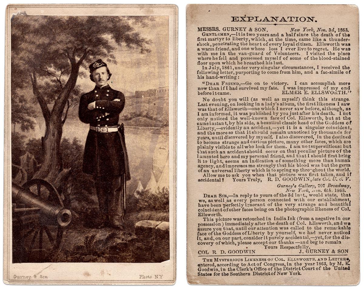 Carte de visite by J. Gurney & Sons of New York City. Author's collection.