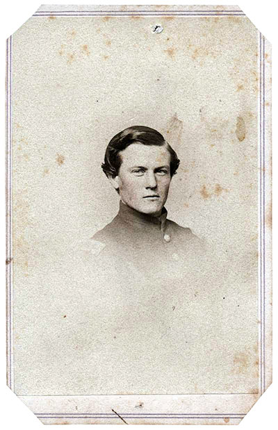 Norton as an officer in the 8th U.S. Colored Infantry, about 1864. Carte de visite by J.E. MCLees of Philadelphia, Pa. Ken Turner collection.