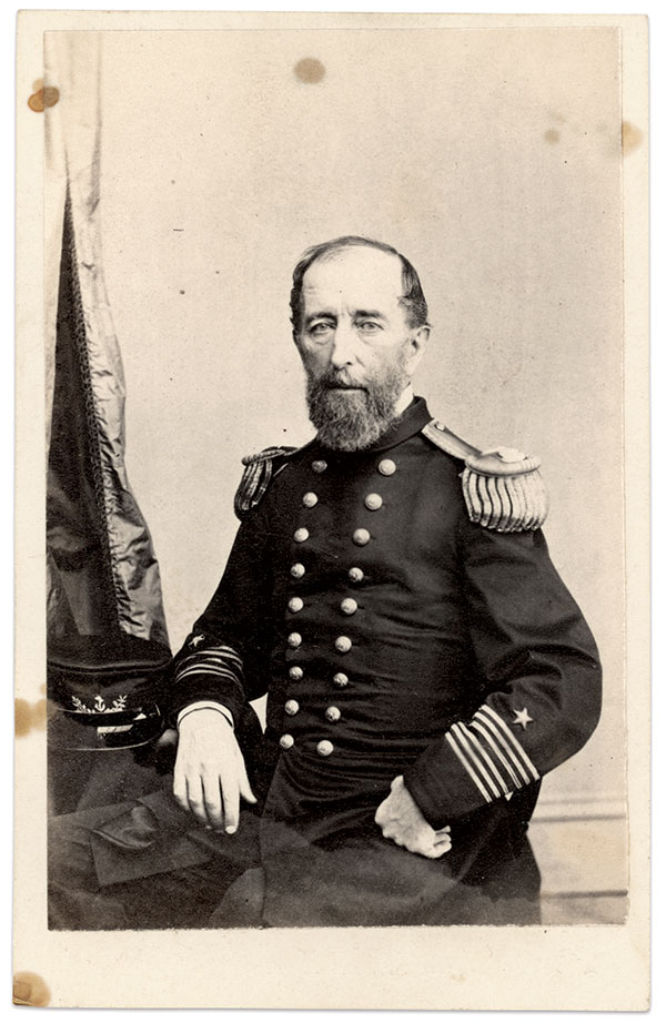 James Madison Frailey in his captain's dress uniform, about 1866. Carte de visite by Wenderoth, Taylor & Brown of Philadelphia, Pa. Dale Niesen Collection.