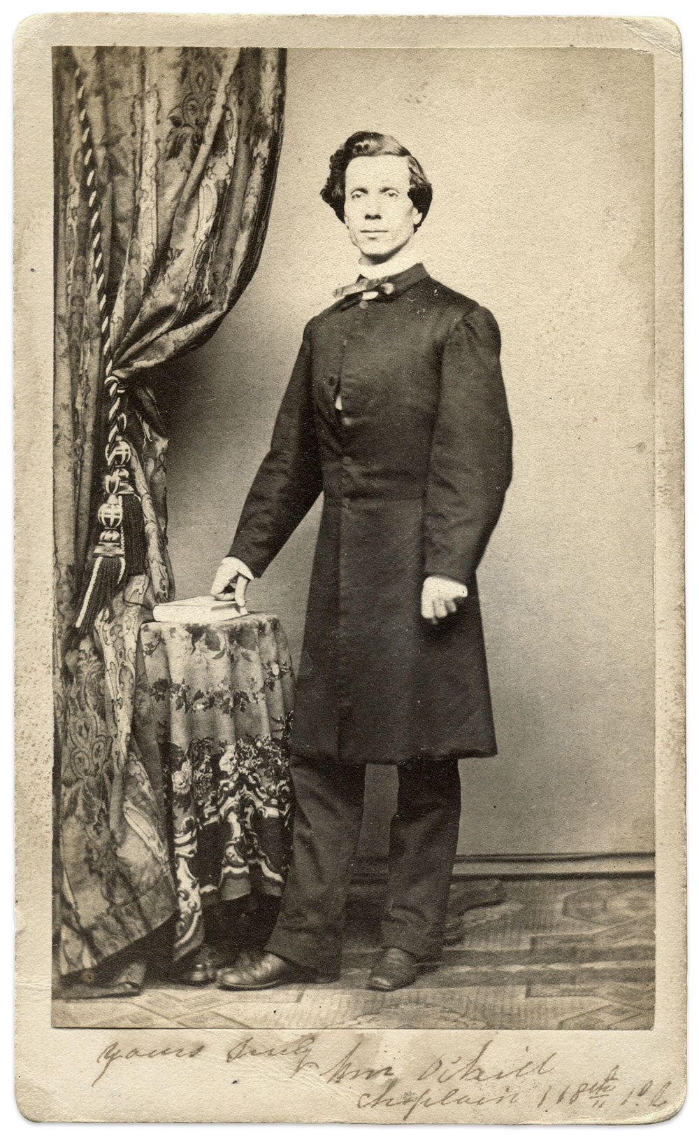 Carte de visite by Theodore Evers of Philadelphia, Pa. Rick Carlile Collection.