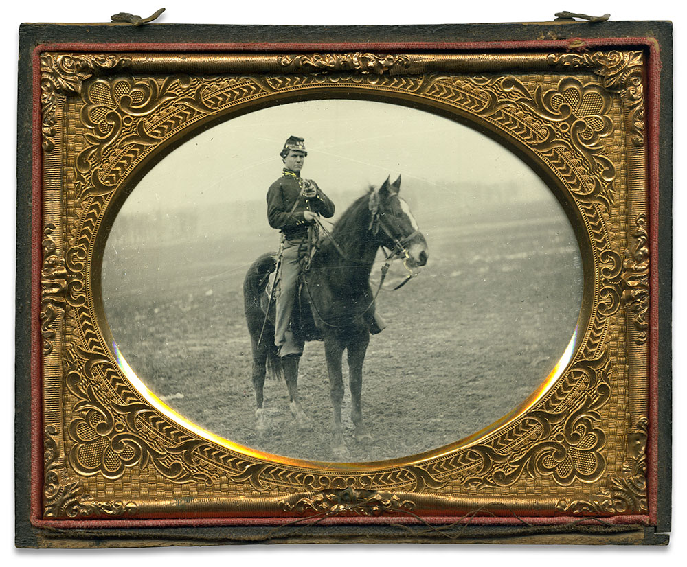 Quarter-plate tintype by an anonymous photographer.