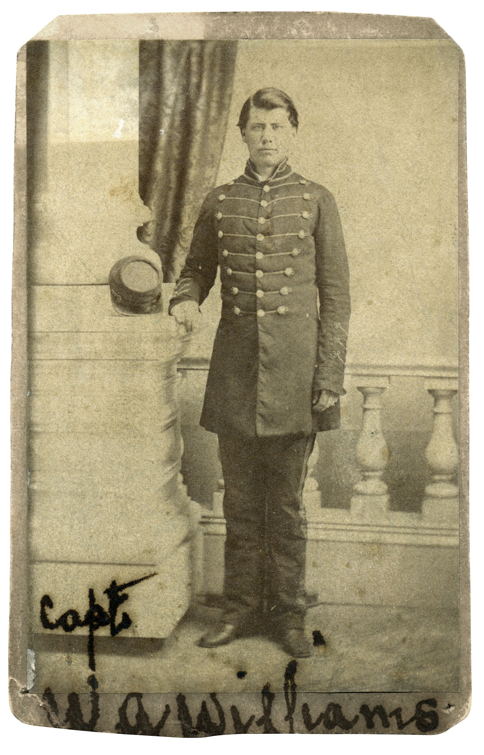 Carte de visite by Wearn & Hix of Columbia, S.C. Clayton Hunt collection.