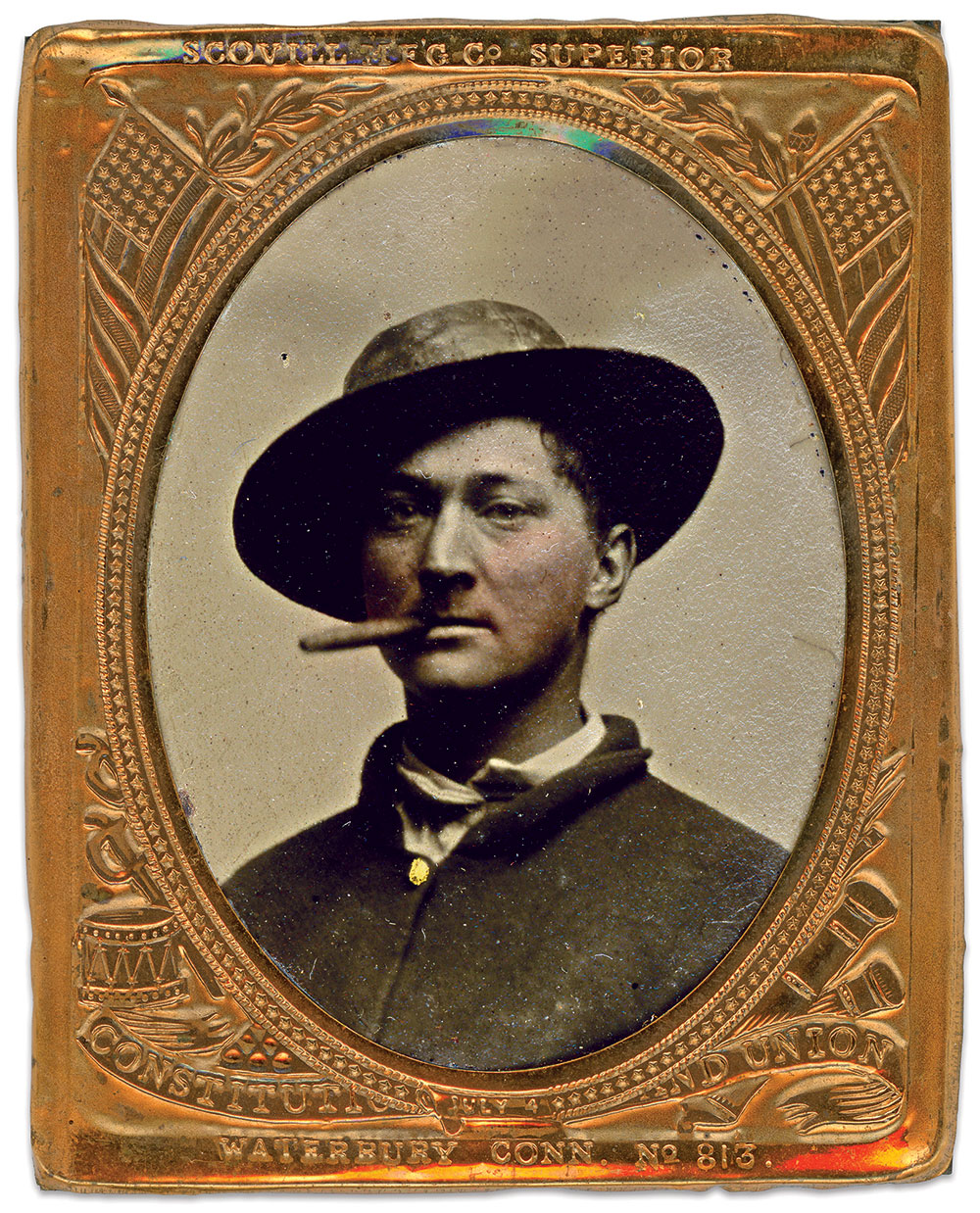 Ninth-plate tintype by an anonymous photographer. Charles Joyce Collection.