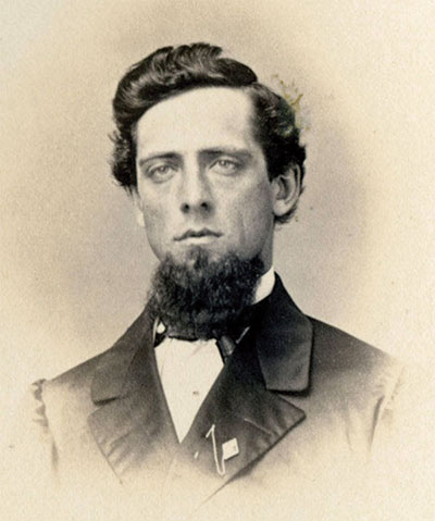 Klinefelter in 1862. Albumen print by Tyson Brothers of Gettysburg, Pa. Special Collections, Musselman Library, Gettysburg College.