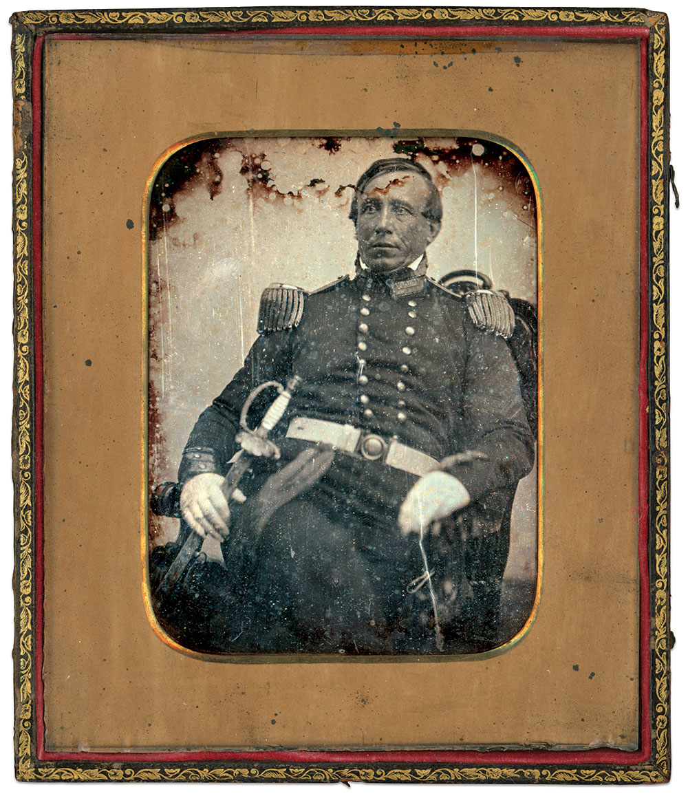 Sixth-plate daguerreotype by Southworth and Hawes of Boston, Mass.