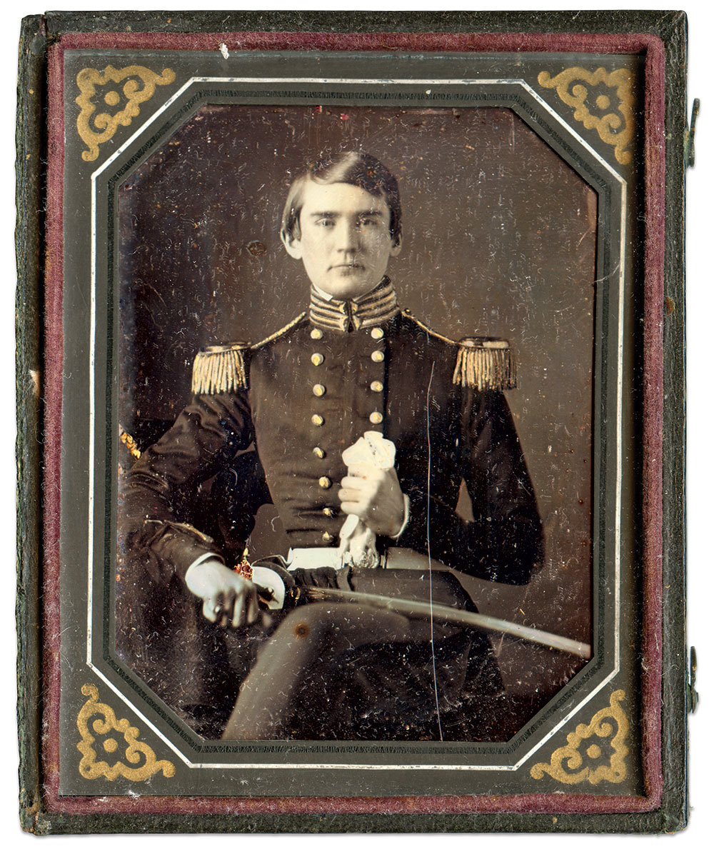Quarter-plate daguerreotype by William and Frederick Langenheim of Philadelphia. Pa.