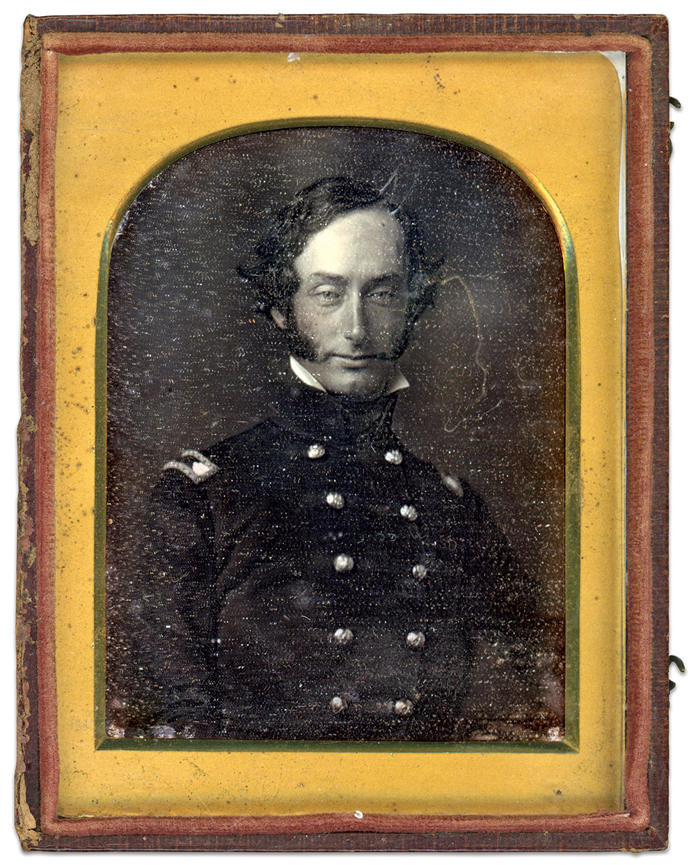 Sixth-plate daguerreotype by Marcus A. Root of Philadelphia, Pa.