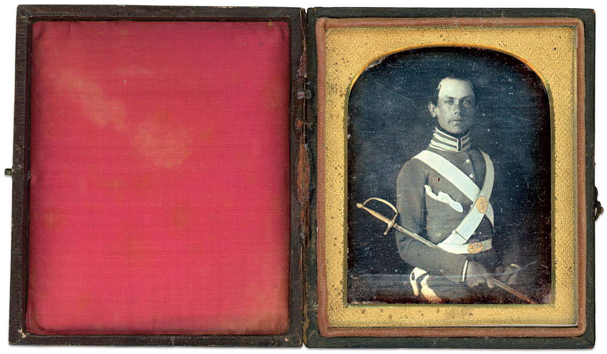 Sixth-plate daguerreotype by an anonymous photographer. Dr. William Schultz Collection.
