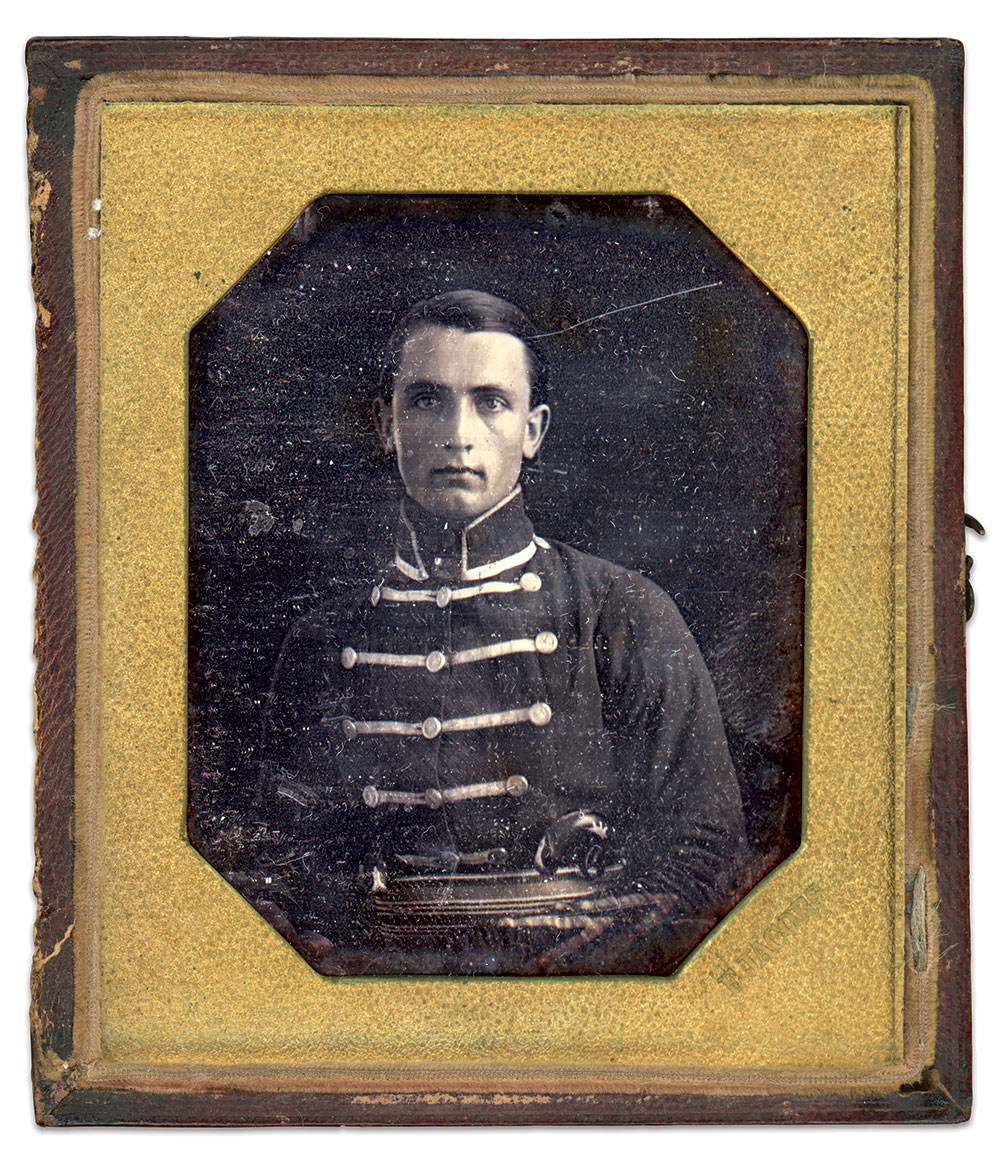 Sixth-plate daguerreotype by Edward Jacobs of New Orleans. La.