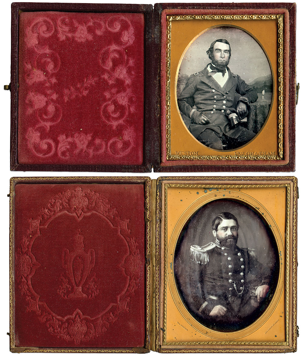 Ninth-plate daguerreotype by James P. Weston of New York City; Half-plate daguerreotype by Washington L. Germon of Philadelphia, Pa.