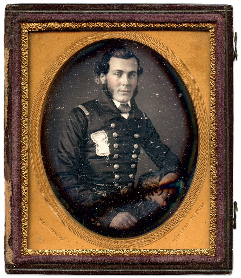 Sixth-plate daguerreotype by Washington L. Germon of Philadelphia, Pa.