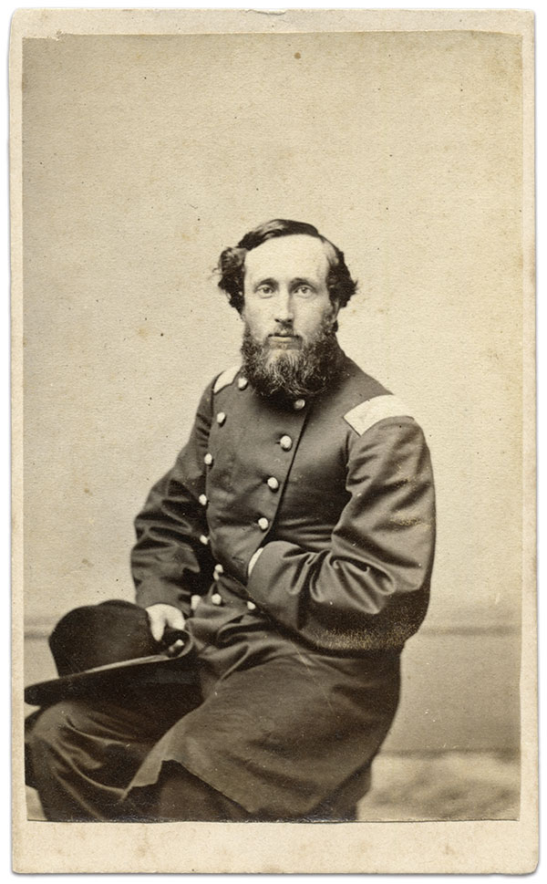 Philip Sidney Post, pictured as a colonel. Carte de visite by John Carbutt of Chicago. The Liljenquist Family Collection at the Library of Congress.