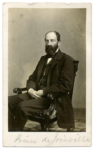 The Prince de Joinville, circa 1862. Carte de visite by Mathew B. Brady of New York City and Washington, D.C. Ronald S. Coddington Collection.