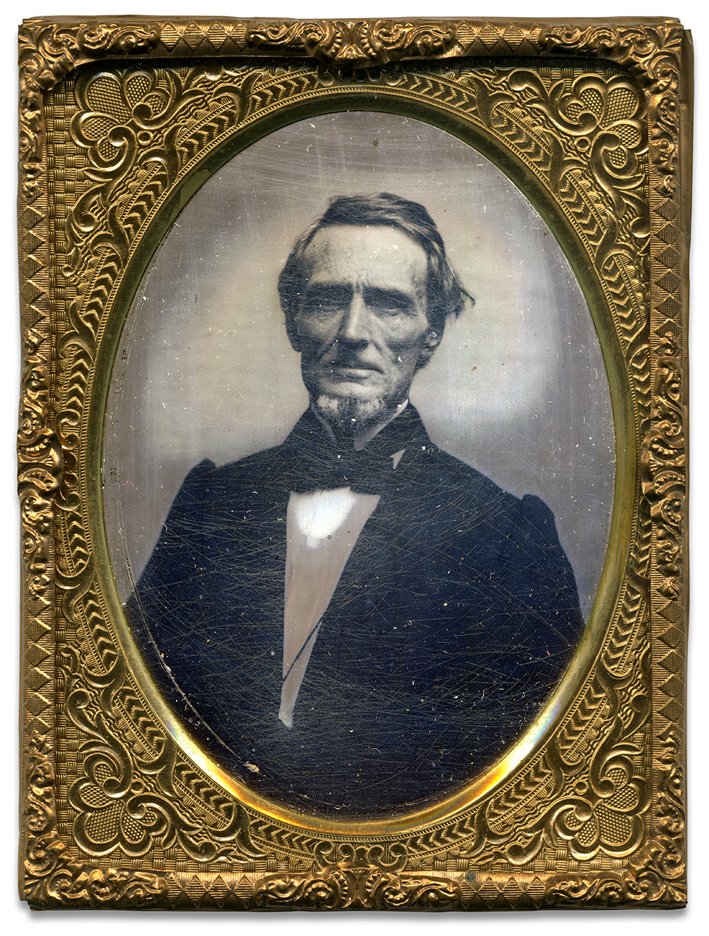 Quarter-plate tintype attributed to Jesse H. Whitehurst of Washington, D.C. John O'Brien collection.