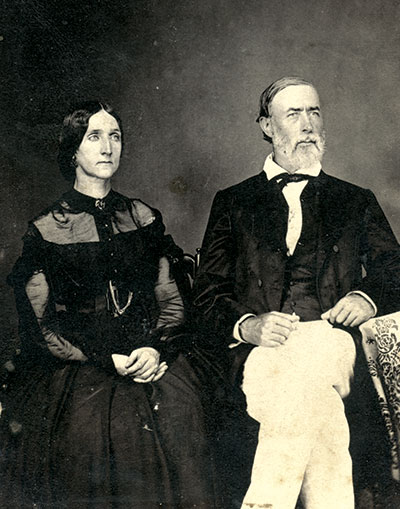 """Elizabeth and John Green, """"The Parents of 5 'Ragged' Rebs."""""""