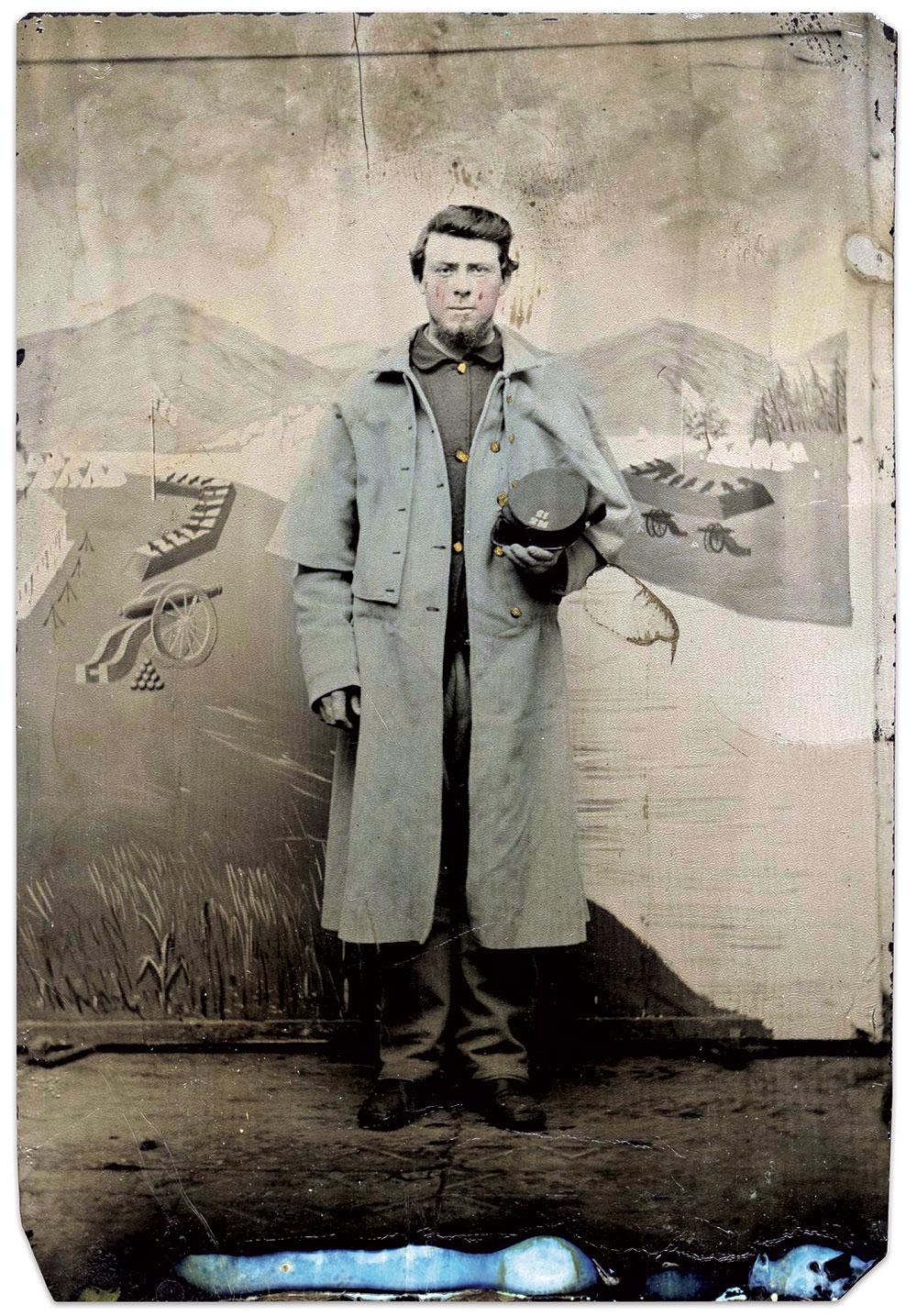 Quarter-plate tintype. John Robella Collection.