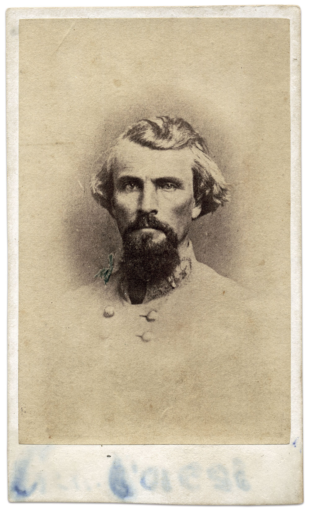Carte de visite by Richard Wearn of Columbia, S.C. Steve and Mike Romano Collection.