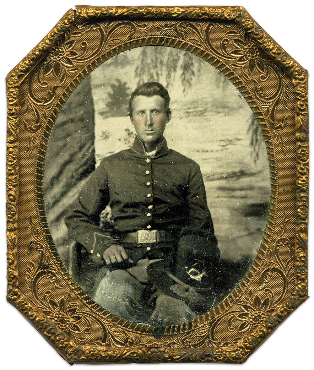 Sixth-plate tintype by an anonymous photographer. Paul Russinoff Collection.
