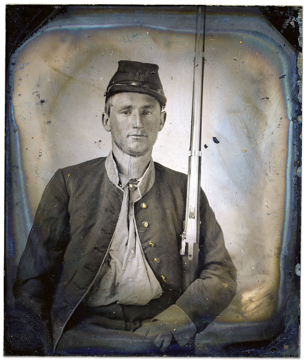 Sixth-plate tintype by an anonymous photographer. Matthew L. Oswalt M.D. Collection.