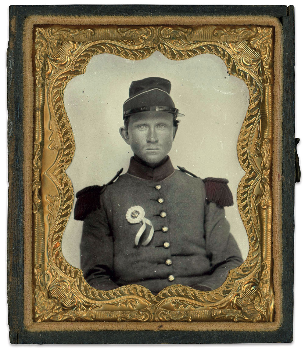 Ninth-plate ambrotype by an anonymous photographer.
