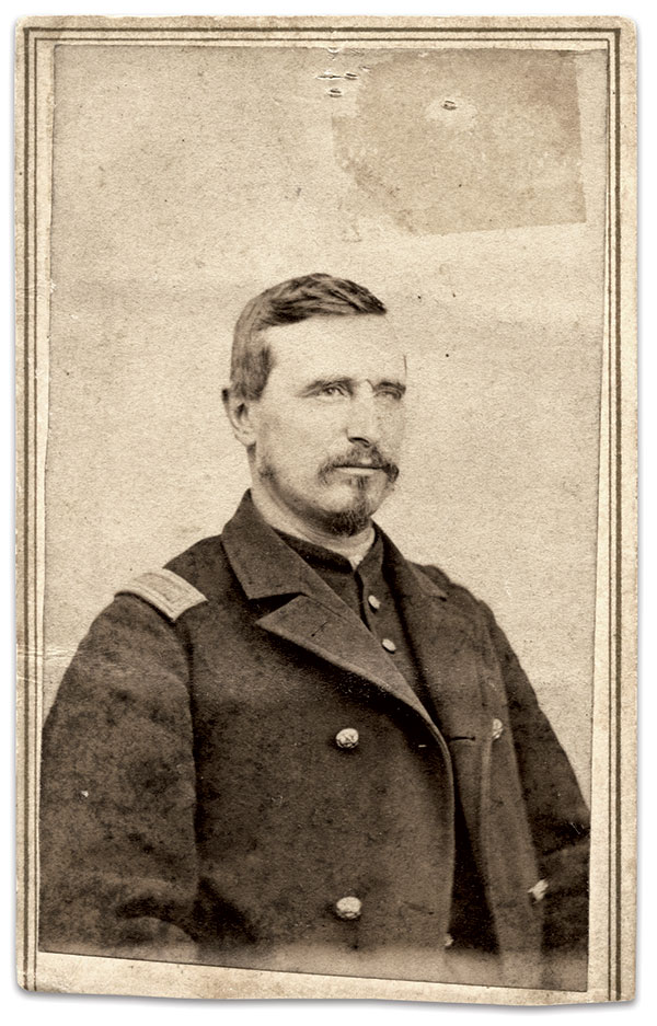 Seymour Conger. Carte de visite by A. Whissemore of Mansfield, Ohio. Author's collection.