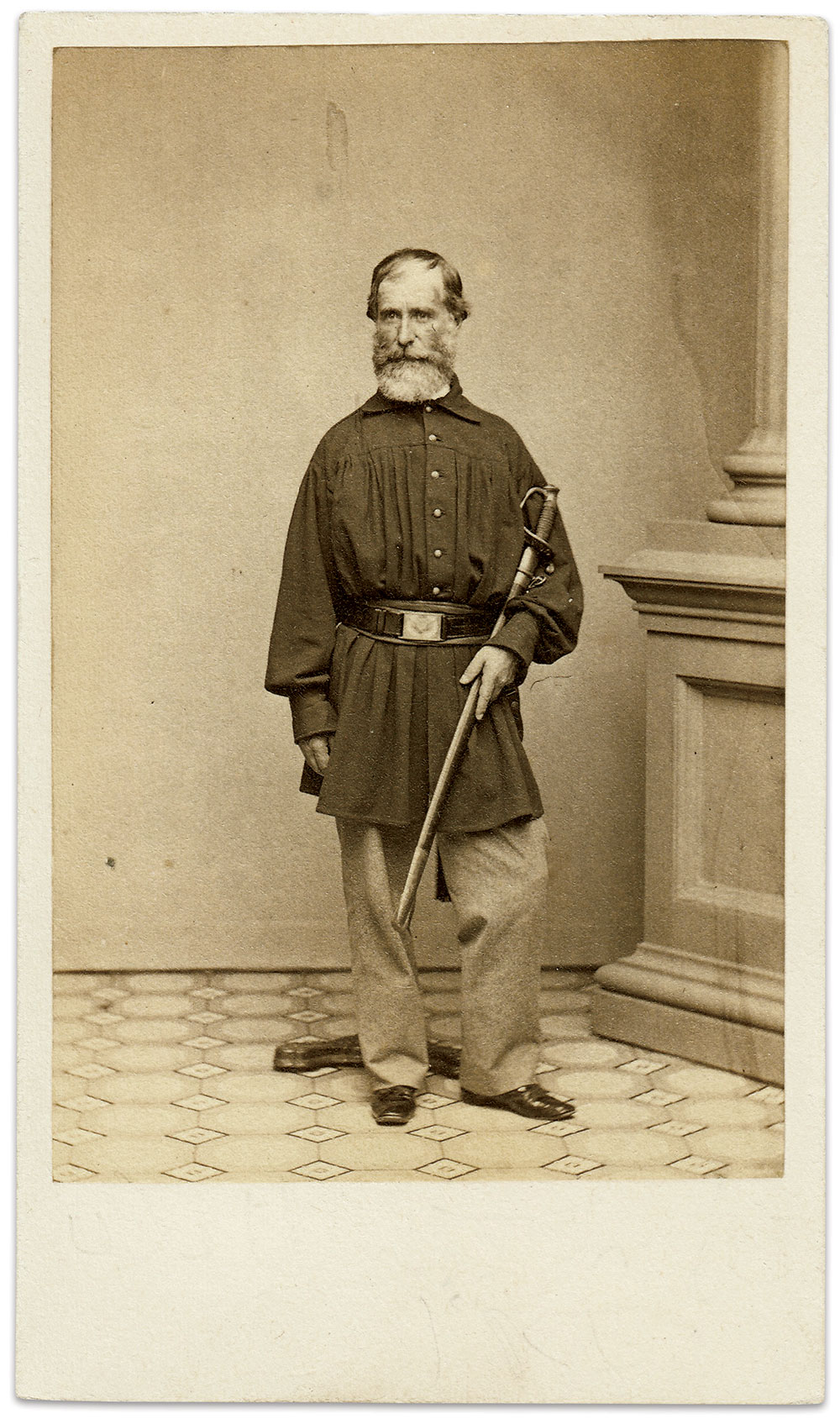Carte de visite by Bundy & Rowell of Providence, R.I. Scott Valentine Collection.