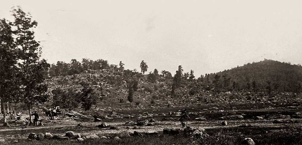 Little Round Top. Library of Congress.