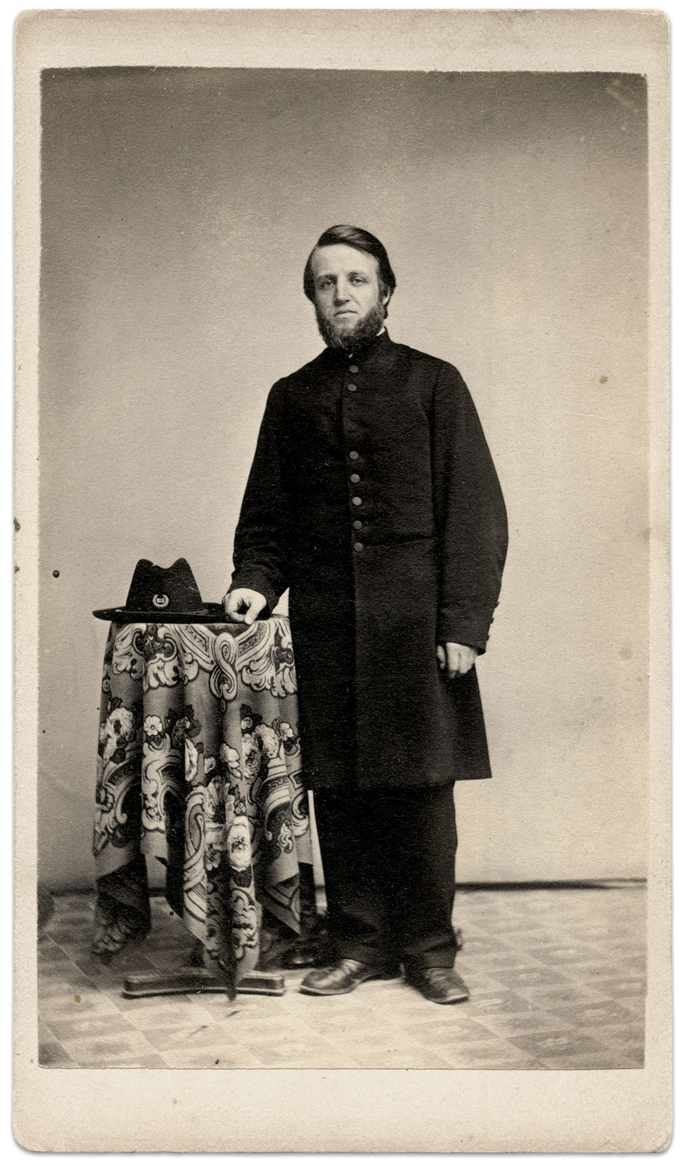 Carte de visite by Howard Brothers of North Bridgewater, Mass. Rick Carlile Collection.