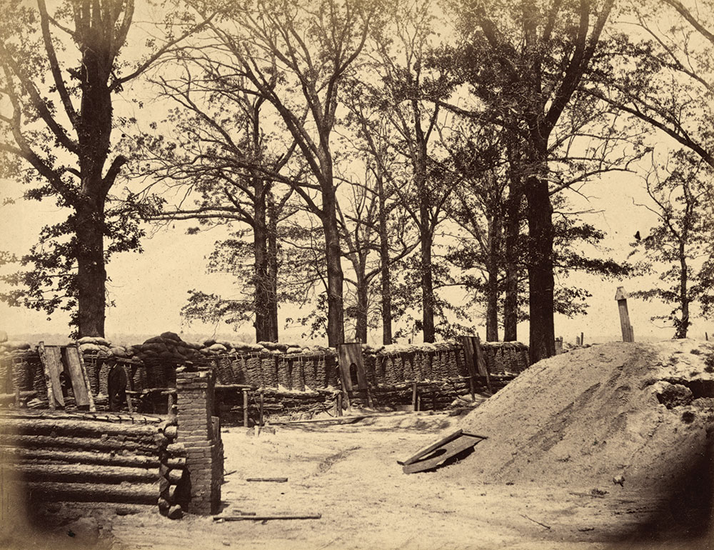 Fort Stedman. Library of Congress.