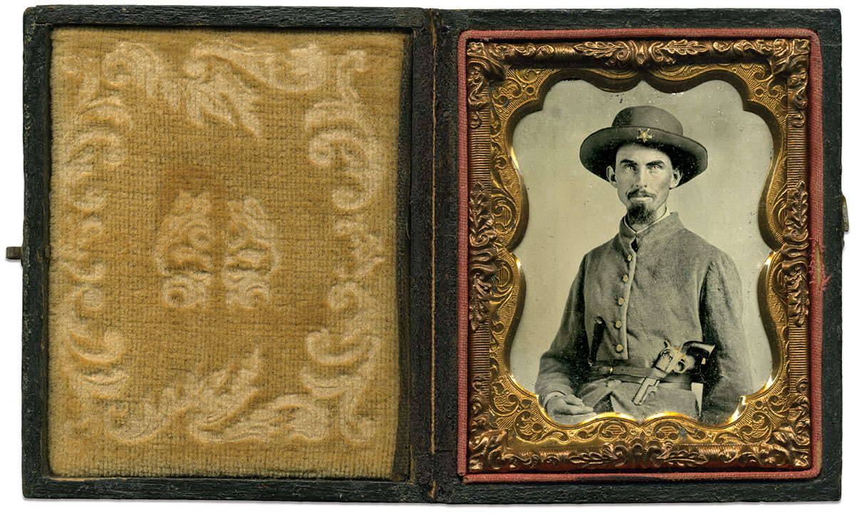 Ninth-plate tintype by an anonymous photographer. Richard Ferry Collection.