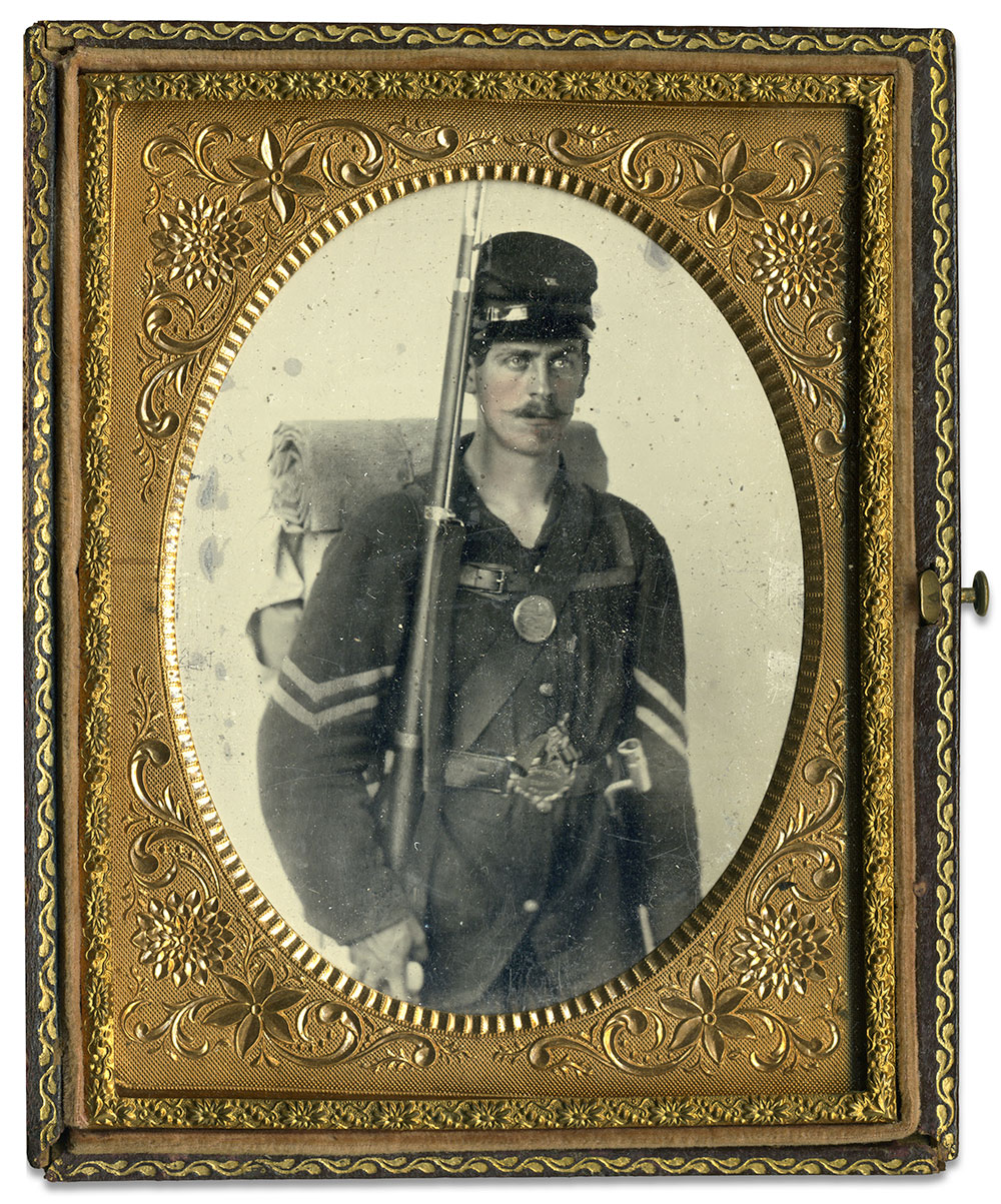 Quarter-plate ambrotype by an anonymous photographer. Rich Jahn collection.