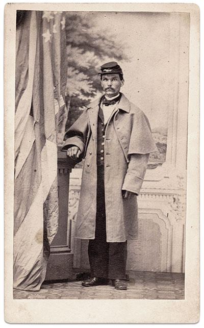 Carte de visite by James M. Dow of Ogdensburgh, N.Y. Seward Osborne Collection.