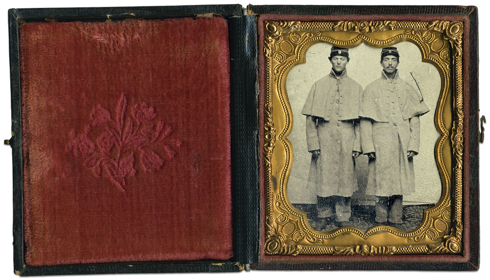 Sixth-plate tintype by an anonymous photographer. David Yunt Collection.