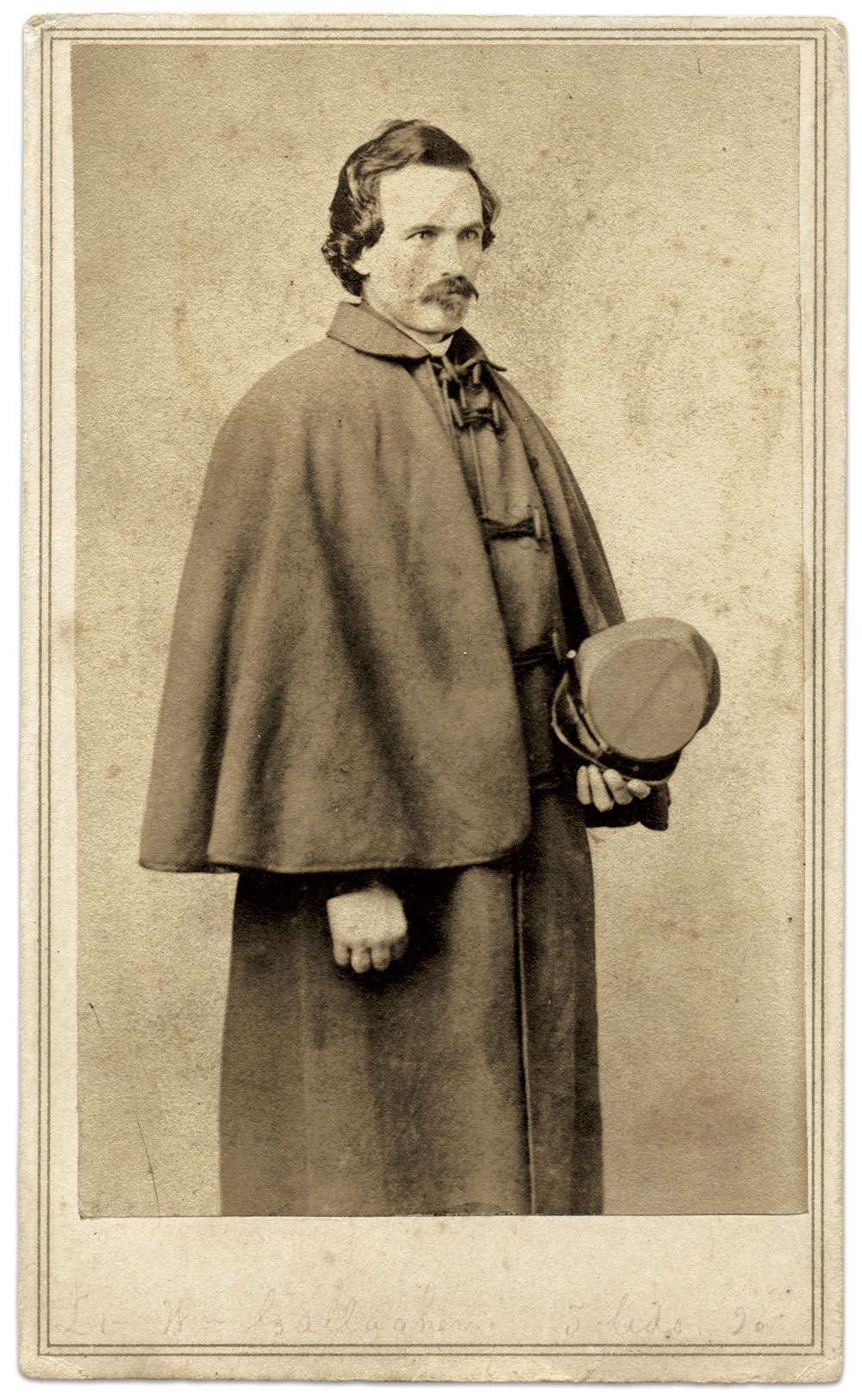 Carte de visite by Mansfield's City Gallery of St. Louis, Mo. Karl Sundstrom Collection.