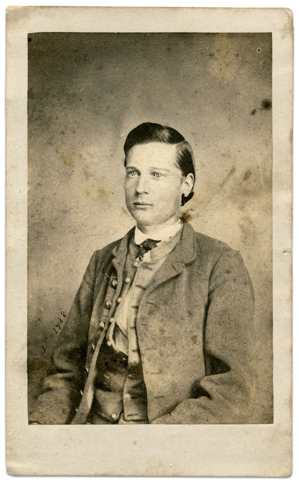 Carte de visite by Charles R. Rees & Co. of Richmond, Va. Karl Sundstrom Collection.