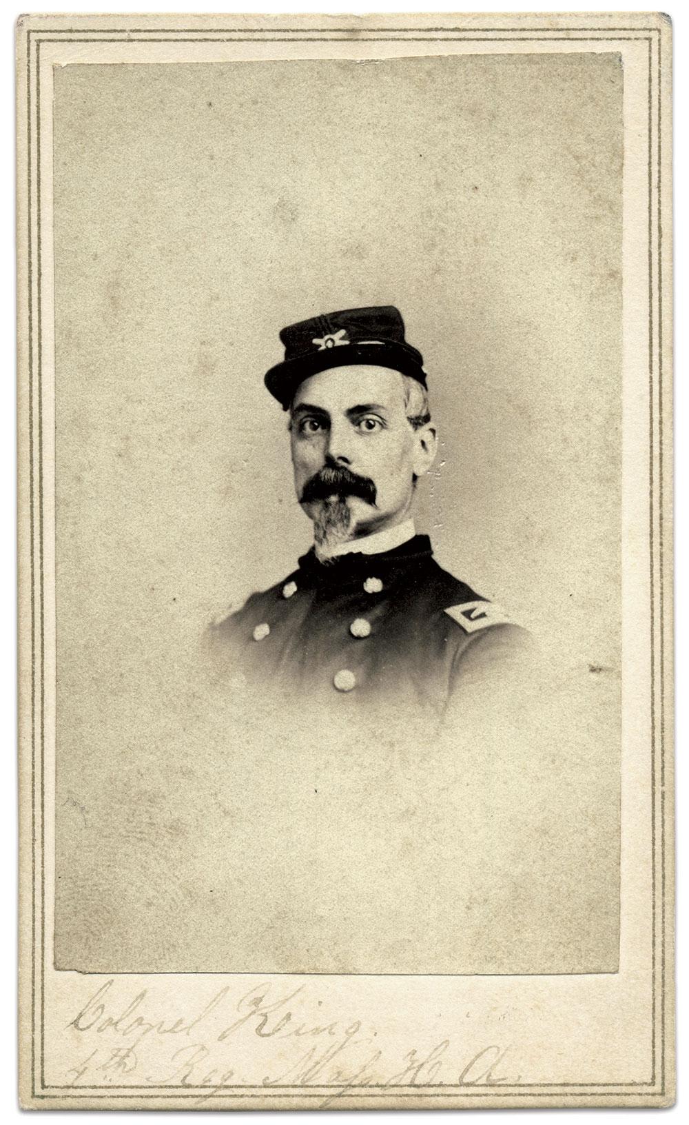 Carte de visite by Cross of Fort Richardson, Va. Karl Sundstrom Collection.