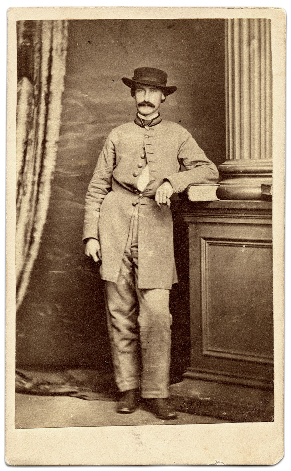 Carte de visite by Charles R. Rees & Co. of Richmond, Va. Collection of the American Civil War Museum.