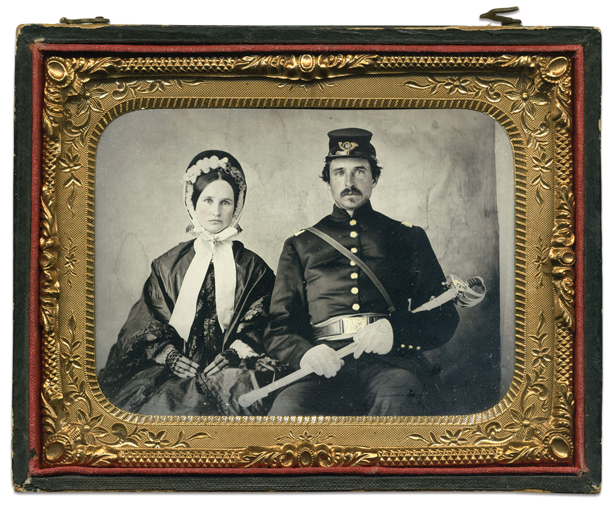 Quarter-plate tintype by an anonymous photographer. Tom Carter Collection.