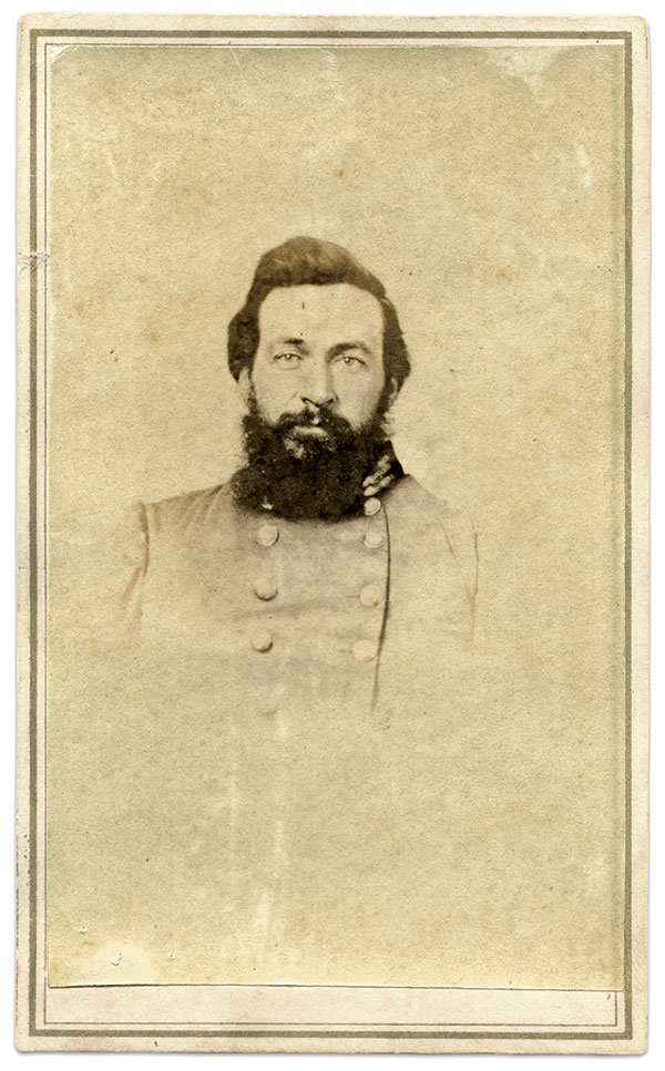 Carte de visite by Joseph H. Van Stavoren of Nashville, Tenn. Vann Martin Collection.