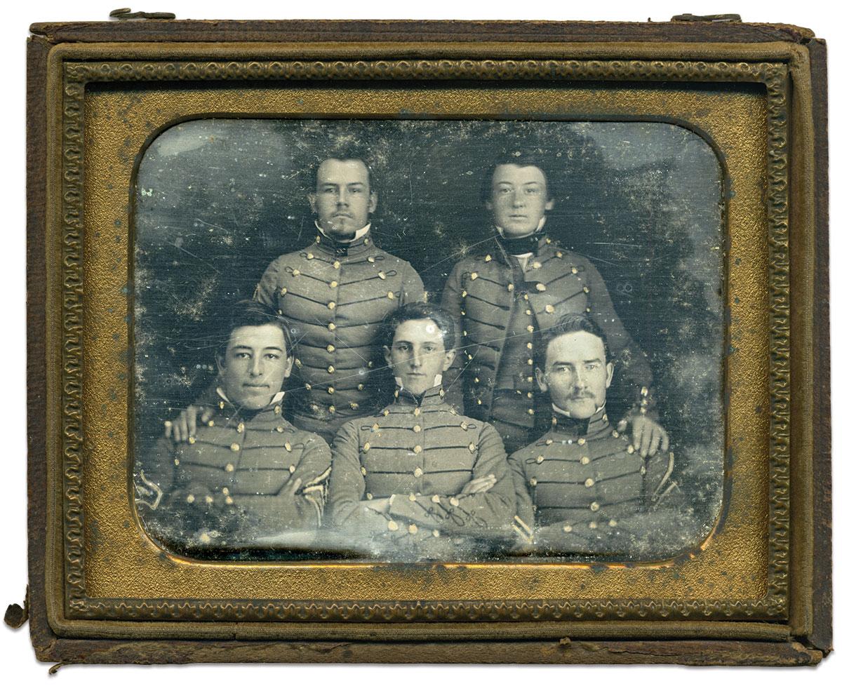 Quarter-plate daguerreotype attributed to Samuel G. Pettigrew of Lexington, Va. Glenn Hilburn Collection.