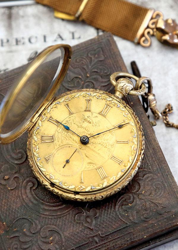 Whitecotton's watch. Willis Treadwell.