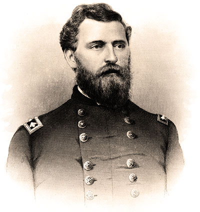 Brig. Gen. Charles Cruft (1826-1883). Collection of the Vigo County Historical Society, Terre Haute, Ind.