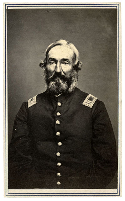 Capt. Richard Mason Waterman, 31st Indiana Infantry. Carte de visite by C. Eppert of Terre Haute, Ind. Author's collection.