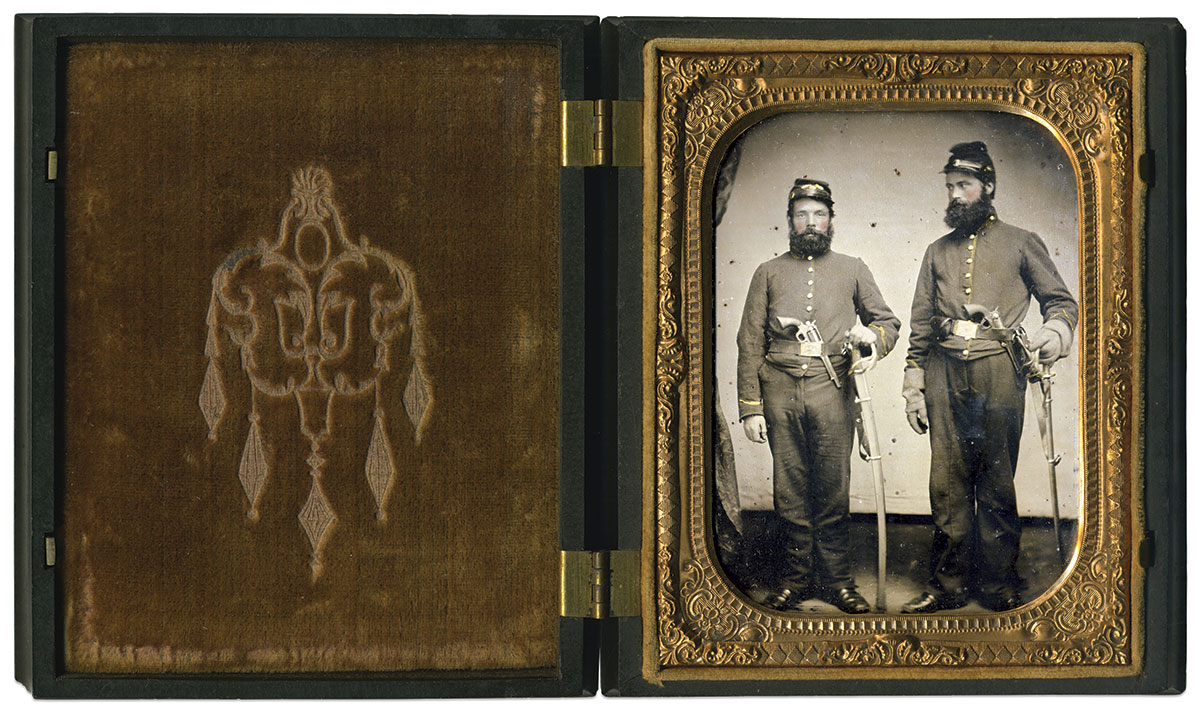 Quarter-plate tintype by an anonymous photographer. Mike Werner Collection.