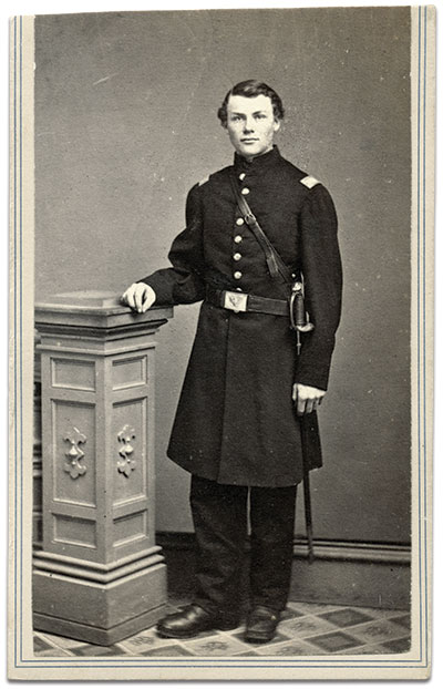 Carte de visite by J.H. Abbott of Albany, N.Y. Rick Carlile collection.