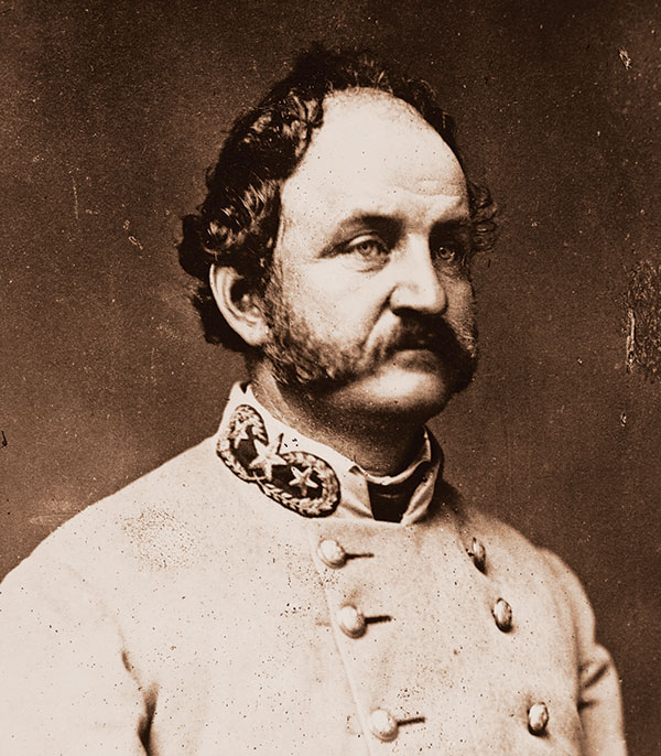 Williams, pictured as a Confederate brigadier. Library of Congress.